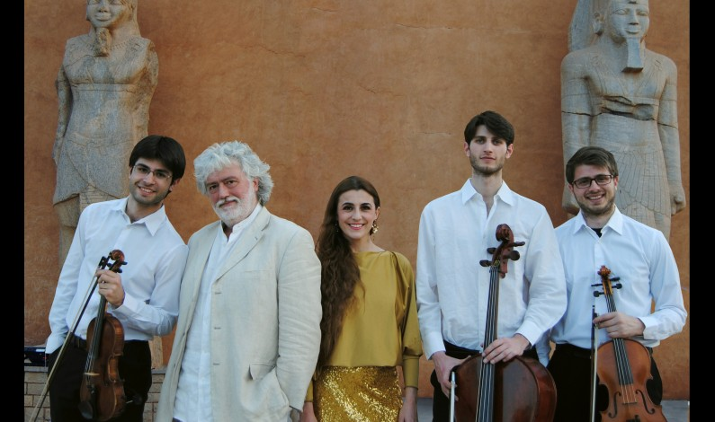 "SILVIA COLOMBINI & LIMES ENSEMBLE  Concerto 19 gennaio Formia – Auditorium ""V.Foa"""