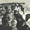 La prima pattuglia russa giunse in vista del campo verso il mezzogiorno del 27 gennaio 1945
