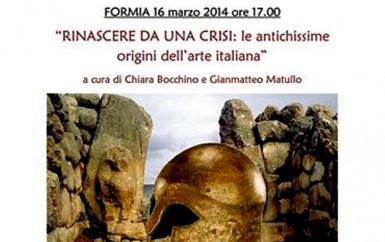 RINASCERE DA UNA CRISI: le antichissime origini dell'arte italiana – domenica a Piancastelli-Diana