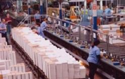 Produzione industriale in calo dello 0,5%