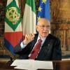 """Quirinale, l'ultimo messaggio di fine anno di Giorgio Napolitano: """"Sto per lasciare"""" (ansa.it)"""