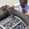 Con Eco-sistemi l'acqua viene depurata con i tappi riciclati di plastica