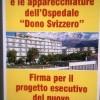 """Raccolta firme per l'Ospedale """"Dono Svizzero"""" ed il nuovo Ospedale del Golfo"""