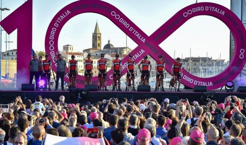 Cento volte Giro d'Italia, al via la corsa più amata Alghero ricorda Scarponi con Aru. Quintana e Nibali i favoriti