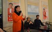 Carla Amici Sindaco di Roccagorga e Anna Finocchiaro Ministra per i rapporti col Parlamento (con Michele Mottola)