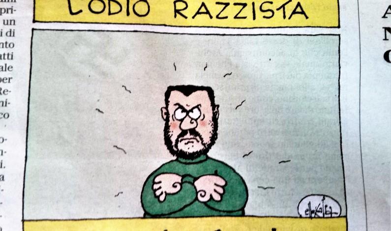 """Salvini: """"Di Traini non mi ricordo. Ma la colpa è dell'immigrazione incontrollata"""""""