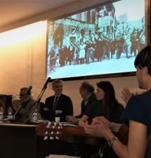 Pietro Ingrao al Liceo Classico Vitruvio Pollione con Guido Crainz e Cesare Damiano