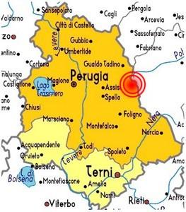 Cartina Marche E Umbria.I Terremoti Storici Dell Umbria