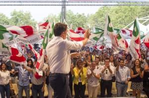 Renzi, referendum non è congresso Pd, vi aspetto lì